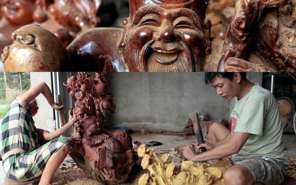 Làng điêu khắc Dư Dụ
