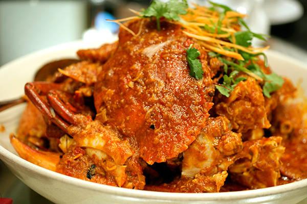 Chilli Crab - cua sốt ớt
