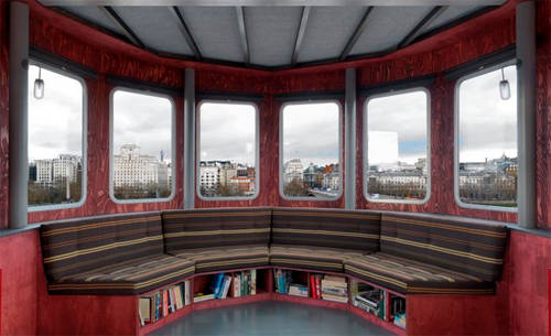 Thiết kế độc đáo của khách sạn A Room for London.