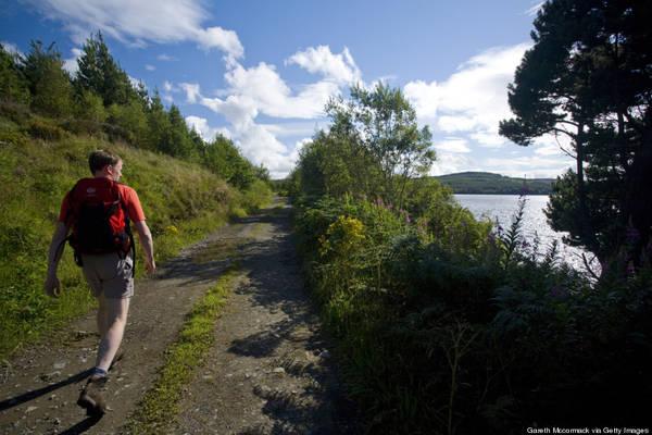 Đến Đền Thánh Lough Derg, Ailen để sám hối