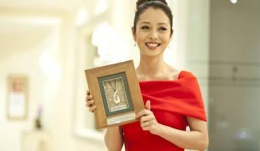 Jennifer Phạm trong buổi công bố Đại sứ Du lịch danh dự New Zealand tại Việt Nam.
