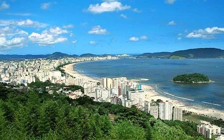 Hình ảnh làm mê hoặc lòng người bởi bãi biển ở Brazil