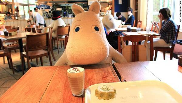 Quán cà phê Moomin House ở Tokyo   Quán cafe độc đáo giúp khách hàng không còn cô đơn tại Nhật quan ca phe chong co don o nhat ban 2 ivivu