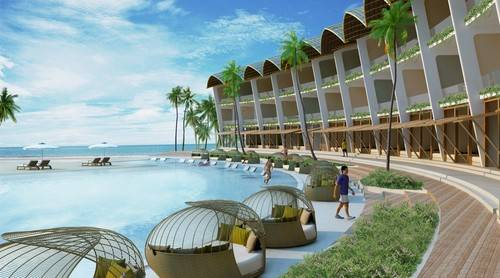 The Shells Resort & Spa Phu Quoc được thiết kế ấn tượng