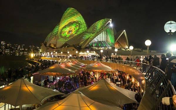 Festival of Light in Sydney