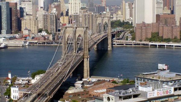 Cầu Brooklyn, một điểm tham quan nổi tiếng ở New York