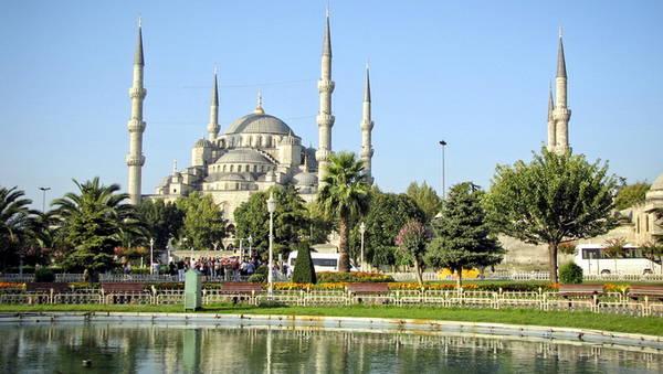 Nhà thờ Hồi giáo Xanh ở Istanbul