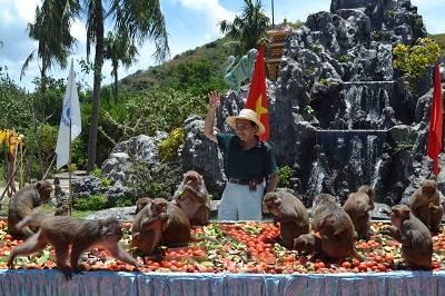 Lễ hội Hoa quả sơn tại Đảo Khỉ, Nha Trang
