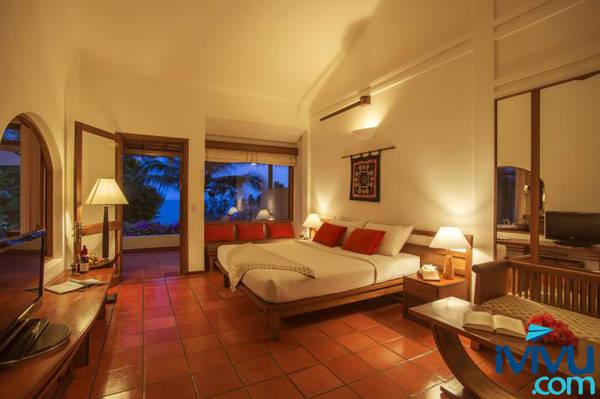 Victoria Phan Thiết Beach Resort & Spa - Khoáng đạt và tối giản trong thiết kế chính là những gì Bungalow Deluxe hướng biển nhắm tới