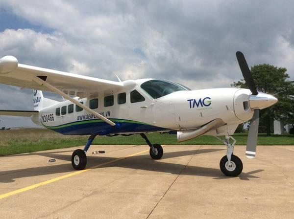 Toàn cảnh chiếc thủy phi cơ sẽ phục vụ du khách tại Việt Nam tháng 9 tới