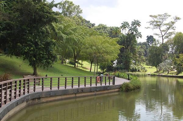 Khu vườn có hơn 60.000 loài động thực vật, và là nơi có Vườn trẻ em đầu tiên trên thế giới