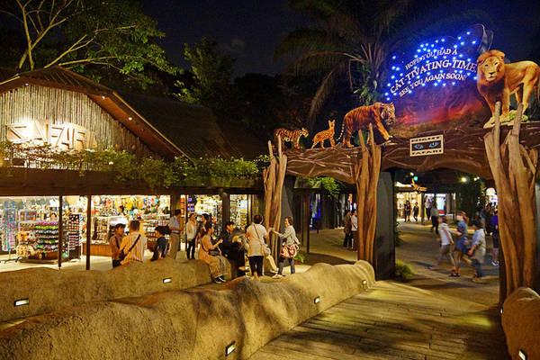 Night Safari là điểm du lịch thu hút hàng đầu của Singapore, hàng năm có hơn 1 triệu lượt du khách ghé thăm.
