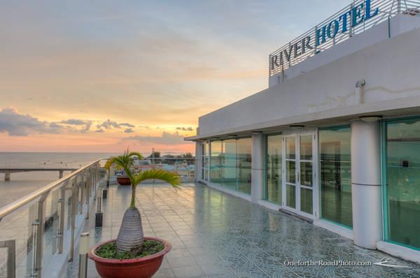 Khách sạn River Hà Tiên - nơi có tầm nhìn thật tuyệt vời.