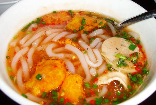 Bánh canh ghẹ lột Phú Quốc ngon nức tiếng