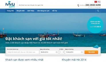 Đặt phòng khách sạn online dễ dàng với iVIVU.com