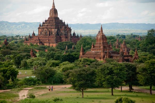 Du lich Myanmar - Chùa Pyathada ở Bagan