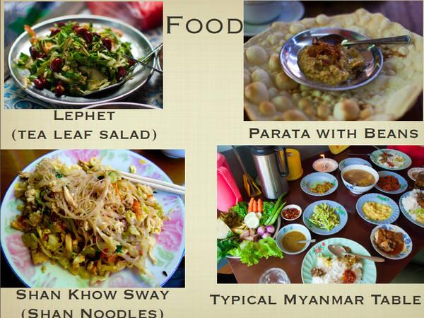 Du lich Myanmar - Ăn uống