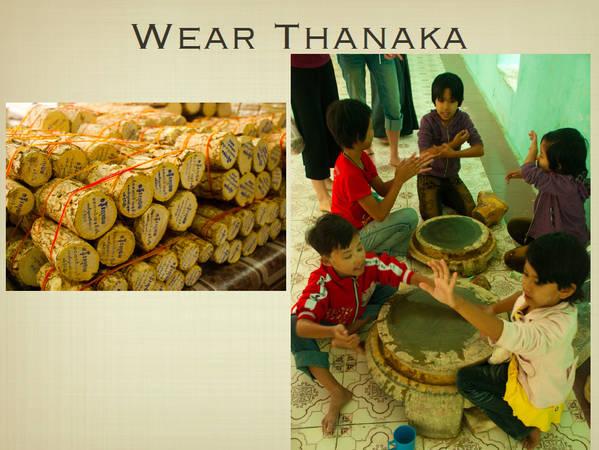 Du lich Myanmar - Phấn Thanaka