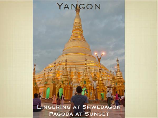 Du lich Myanmar - Chùa Shwedagon