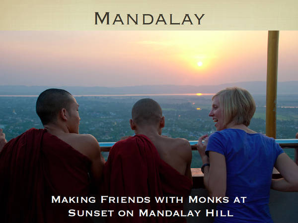 Du lich Myanmar - Đỉnh Mandalay