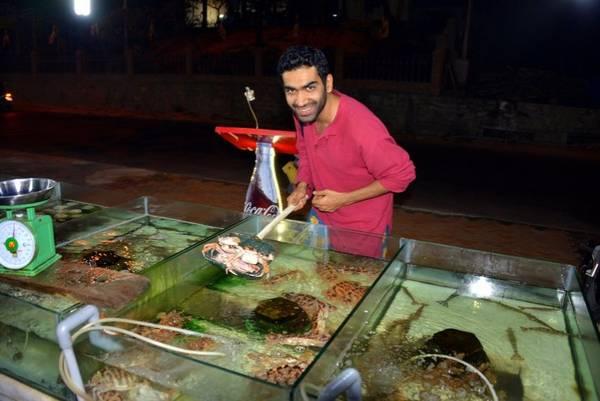 Tự lựa chọn hải sản yêu thích