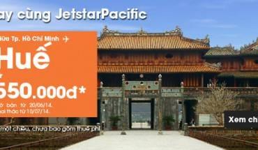 """Chương trình """"Mua vé chiều đi, miễn phí chiều về"""" của Jetstar Pacific"""