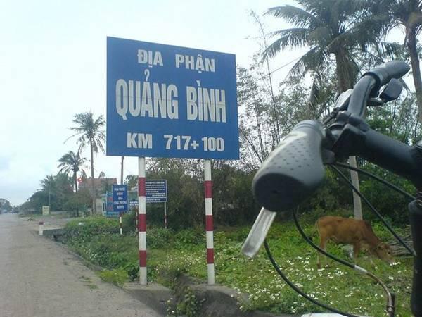 Vào địa phận Quảng Bình.