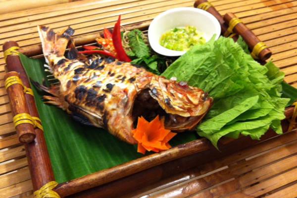 Cá nướng miền Trung