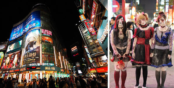 Du lịch Đài Bắc - Ximending là nơi tụ hội của các tín đồ cosplay và otaku.