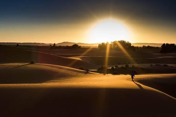9. Sa mạc Sahara, Ma-rốc