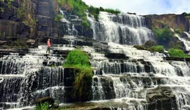 Vẻ đẹp của thác Pongour (Ảnh: Thekitchenpaper)