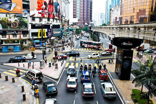 Du lich Kuala Lumpur - Khu mua sắm Bukit Bintang