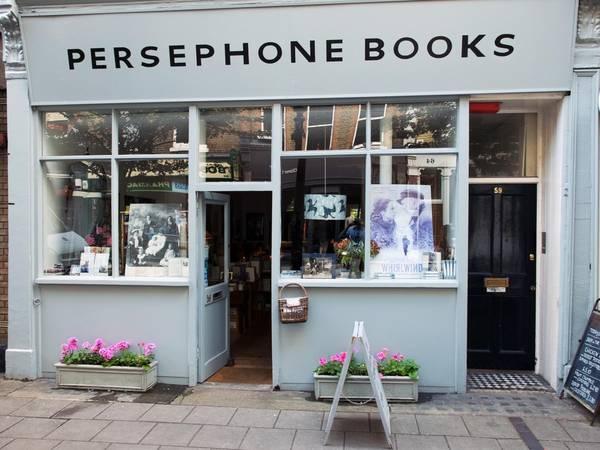 Kết quả hình ảnh cho Persephone Books, Lamb's Conduit St 59 , London , WC1N 3nb