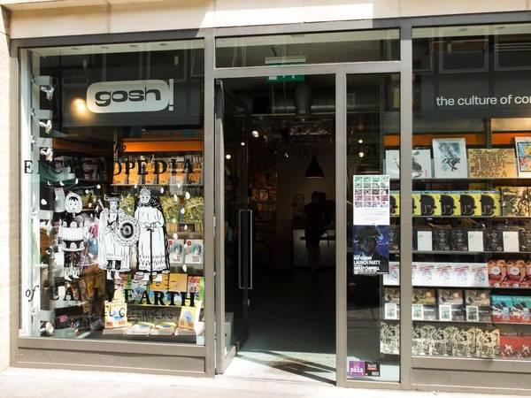 Kết quả hình ảnh cho Gosh!, 1 , Berwick St , London , W1F 0DR