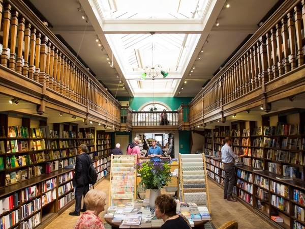 Kết quả hình ảnh cho Daunt Books, Marylebone High St. 83-84 London