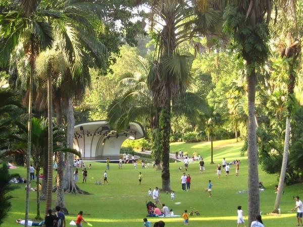 Dạo chơi tại Vườn Bách thảo  Singapore