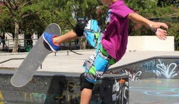 Tự tin thể hiện cá tính tại Công viên Xtreme Skate