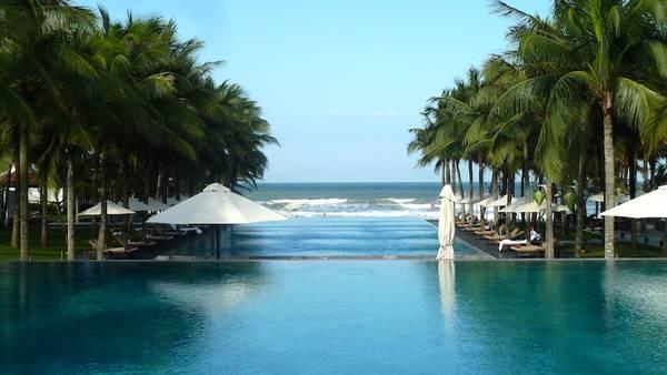 Du lich Hoi An - Khung cảnh xanh mát, chan hòa với thiên nhiên của Khu nghỉ dưỡng