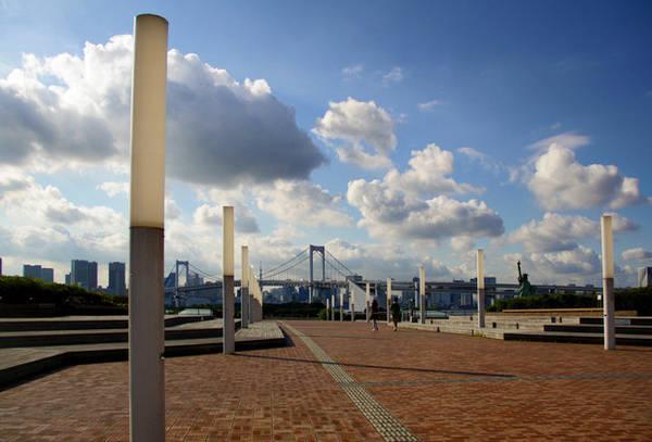 Du lich Tokyo - Hình ảnh được chụp tại Odaiba - một hòn đảo nhân tạo ở Tokyo, một nơi vô cùng sạch sẽ và yên tĩnh.