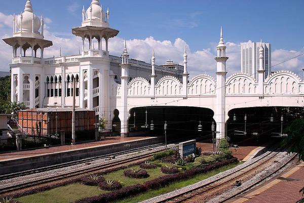 Du lich Kuala Lumpur - Tòa nhà Kuala Lumpur Railway Station