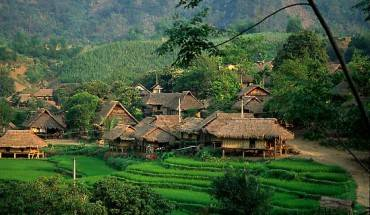 Du lich Viet Nam - Nhà sàn Mai Châu