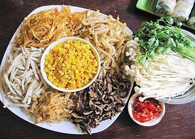 Am thuc Ha Noi - Bún thang Hà Nội