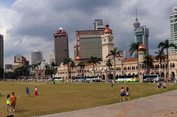 Du lich Kuala Lumpur - Quảng trường Merdaka
