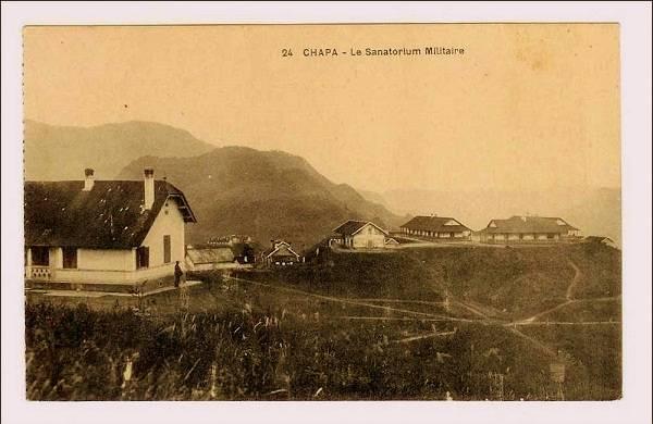 Những nhà nghỉ dưỡng dành cho quân lính Pháp tại Đông Dương.