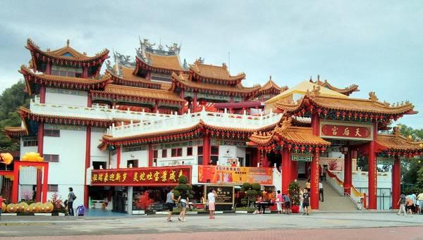 Du lich Kuala Lumpur - Chùa Thiên Hậu