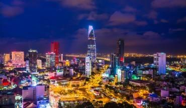 Vẻ đẹp của Sài Gòn nhìn từ trên cao (Ảnh: Buffalotours)