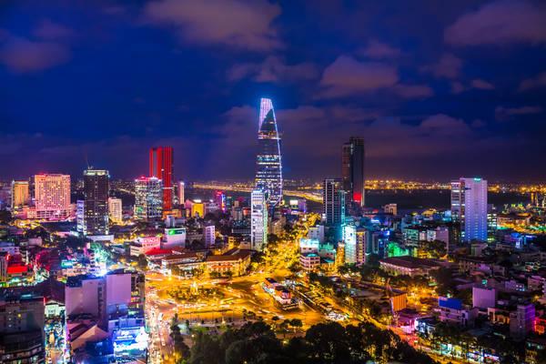 Vẻ đẹp của Sài Gòn nhìn từ trên cao