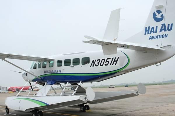 Từ ngày 9/9/2014 Hàng không Hải Âu sẽ tổ chức lễ khai chương dịch vụ thủy phi cơ phục vụ du lịch.