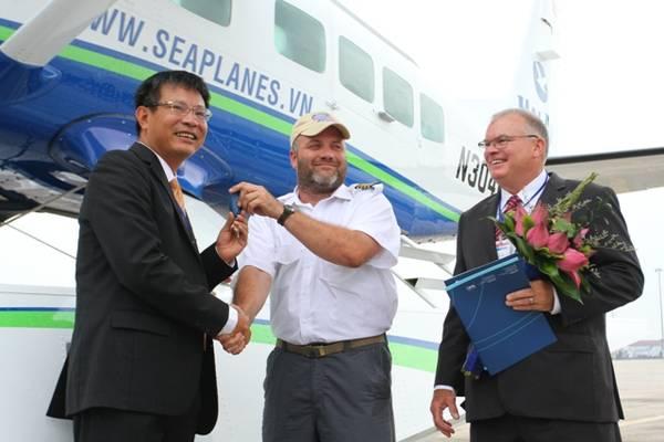 Theo đại diện của Hãng hàng không Hải Âu, thủy phi cơ là nhóm vận tải hàng không chung cùng với air taxi.