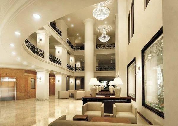 Khu vực tiền sảnh của khách sạn
